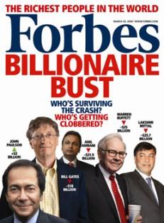 Forbes list of celebrity billionaires